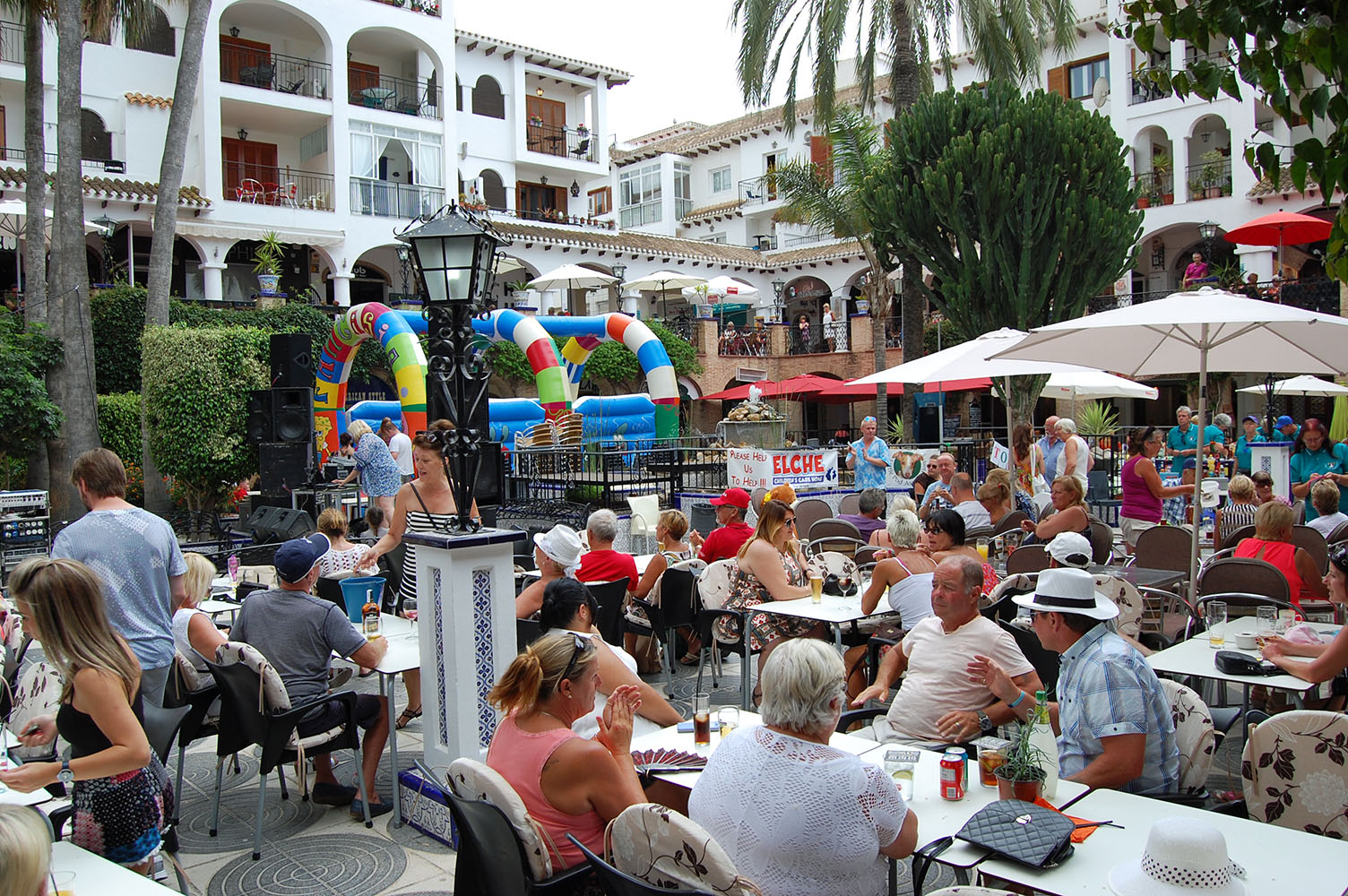 Charity Days in Villamartin Plaza