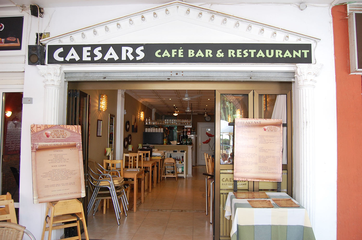 Caesar's Restaurant on Villamartin Plaza