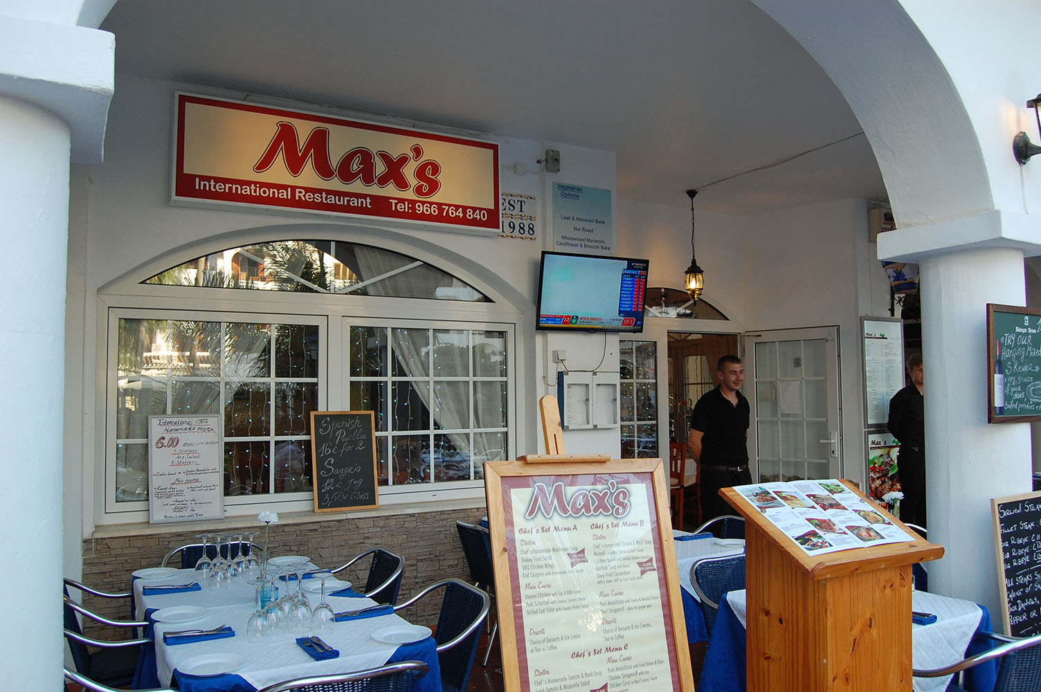 Max's International Restaurant on Villamartin Plaza