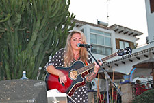 Angela G Brown at Villamartin Plaza Orihuela Costa Blanca Spain 2016