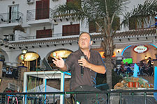 Dan Davy at Villamartin Plaza Orihuela Costa Blanca Spain 2016