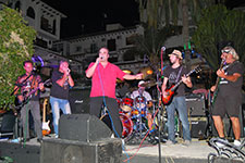Del Fuegos at Villamartin Plaza Orihuela Costa Blanca Spain 2016