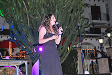 Rebecca Holt at Villamartin Plaza Orihuela Costa Blanca Spain 2016