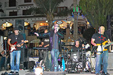 The Fly U2 tribute band at Villamartin Plaza Orihuela Costa Blanca Spain 2016