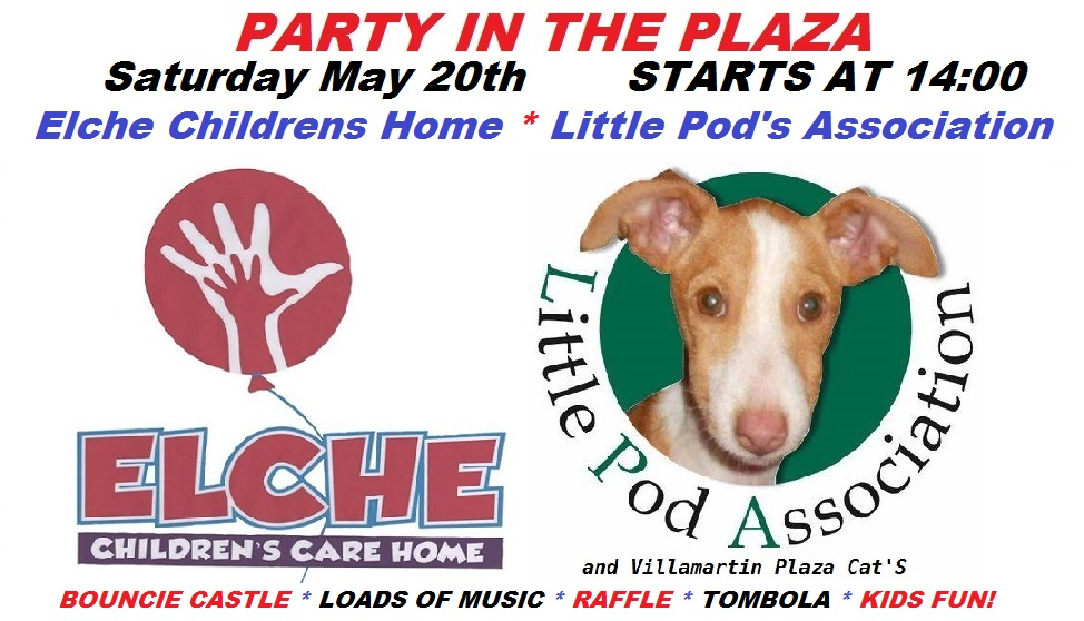 Villamartin Plaza and Elche Childrens & Little Pod's Association