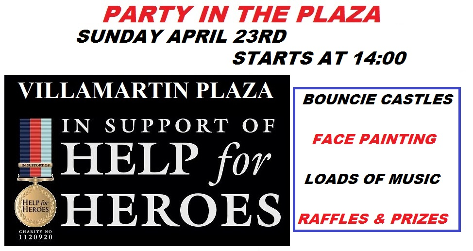 Villamartin Plaza and Help for Heroes 2017
