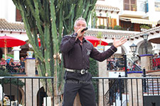 Alan Scott Villamartin Plaza Orihuela Costa Blanca Spain live outdoor concert music entertainment 2017