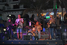 The Geckos Villamartin Plaza Orihuela Costa Blanca Spain live outdoor concert music entertainment 2017