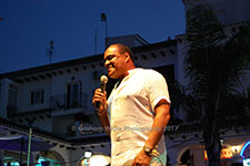 Ray Lewis Drifters Villamartin Plaza Orihuela Costa Blanca Spain live outdoor concert music entertainment 2017