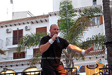 Rob Lewis Villamartin Plaza Orihuela Costa Blanca Spain live outdoor concert music entertainment 2017