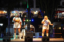 ABBA Solutely Fabulous Villamartin Plaza Orihuela Costa Blanca Spain live outdoor concert music entertainment 2017