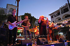 Midnight Funk Villamartin Plaza Orihuela Costa Blanca Spain live outdoor concert music entertainment 2017