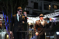 The Birmingham Blues Brothers Villamartin Plaza Orihuela Costa Blanca Spain live outdoor concert music entertainment 2017