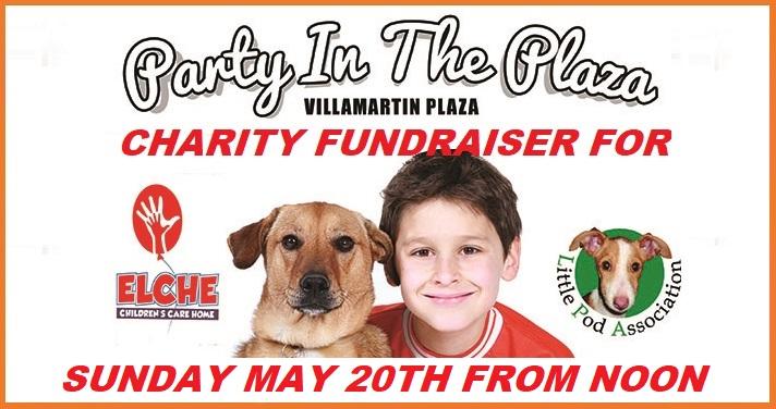 Charity 2018 Elche Children's and Little Pod's Villamartin Plaza