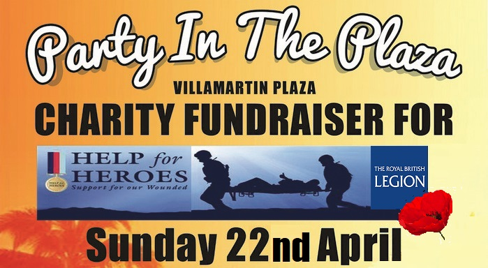 Charity 2018 Help for Heroes Villamartin Plaza