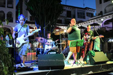 After Midnight Villamartin Plaza Orihuela Costa Blanca Spain live outdoor concert music entertainment 2018