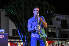 Paul James Allen Villamartin Plaza Orihuela Costa Blanca Spain live outdoor concert music entertainment 2018