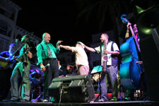 Trouper Swing Band Villamartin Plaza Orihuela Costa Blanca Spain live outdoor concert music entertainment 2018