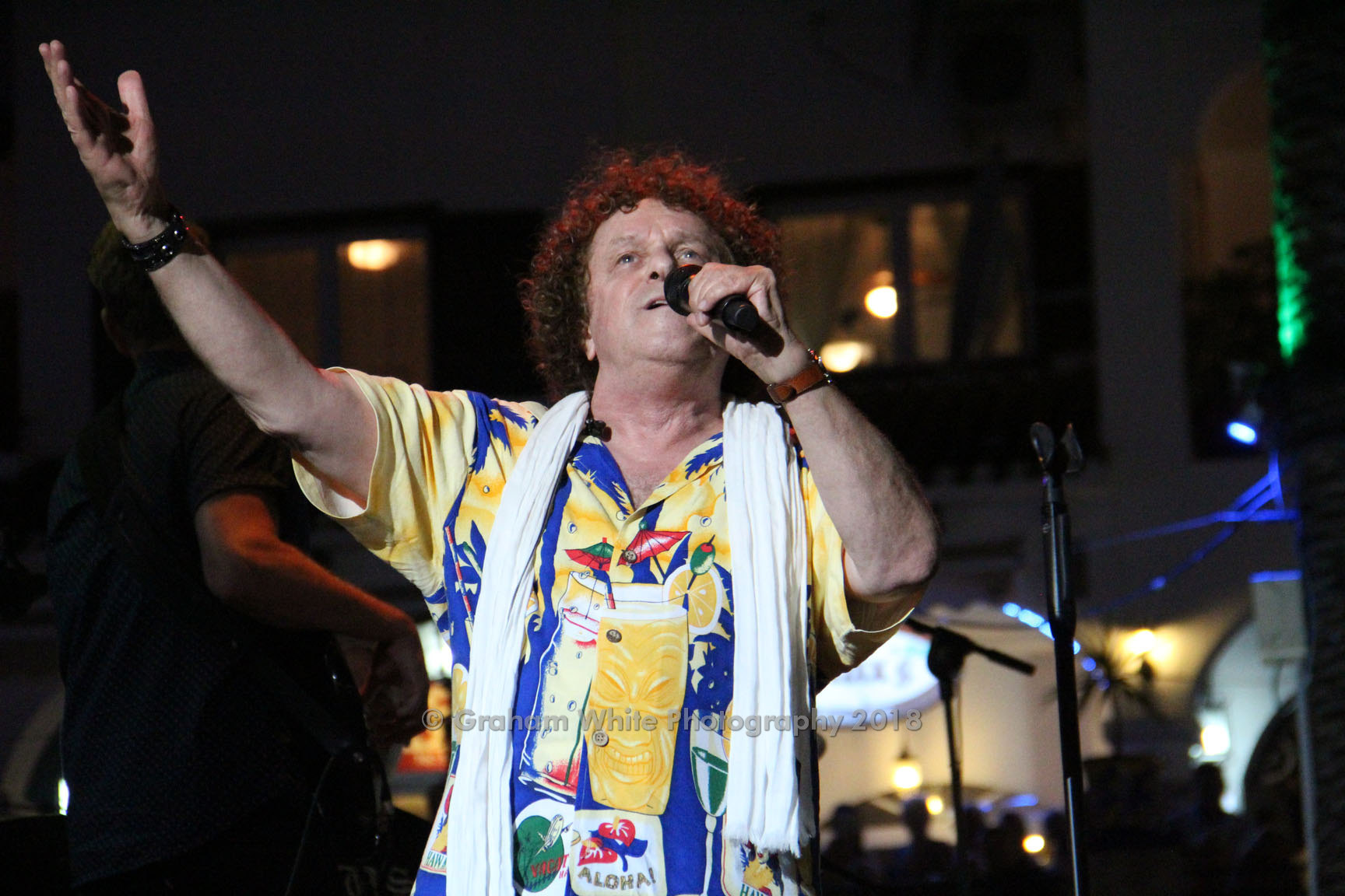Leo Sayer in the Villamartin Plaza 2018