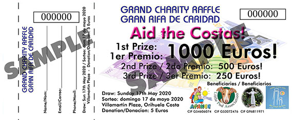 May 2020 Charity Raffle A - White
