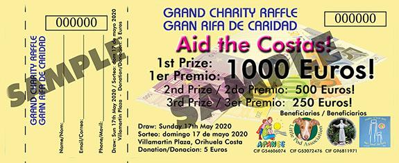May 2020 Charity Raffle B - Yellow