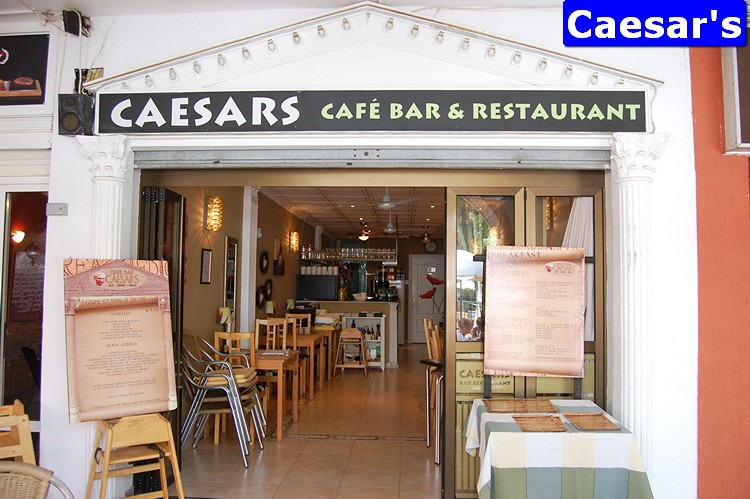 Caesar's on Villamartin Plaza