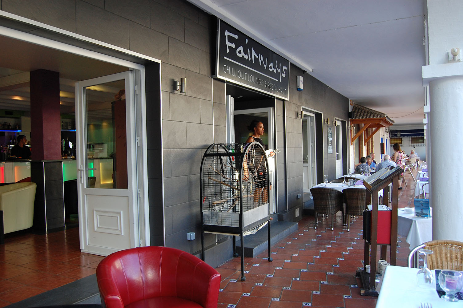 Fairways Restaurant & Chill Out Lounge on Villamartin Plaza
