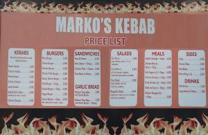 Marko's Kebab Shop Villamartin Plaza