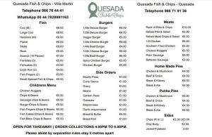 Quesada Fish & Chips Villamartin Plaza